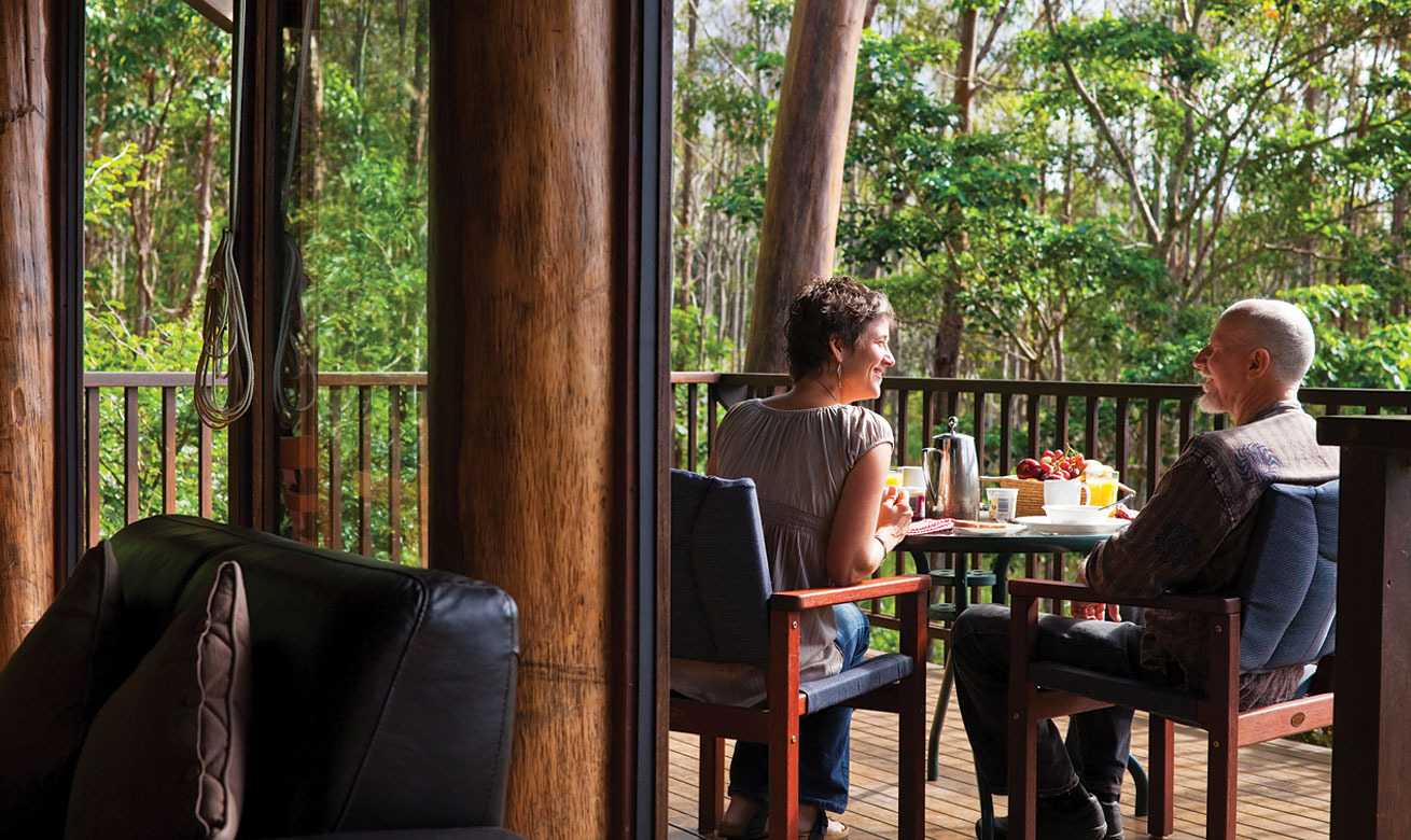 Welcome to the multi award winning rose gums wilderness retreat in the cairns highlands atherton tablelands an easy 90 minutes drive from cairns and